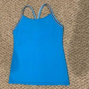 Lululemon blue tank